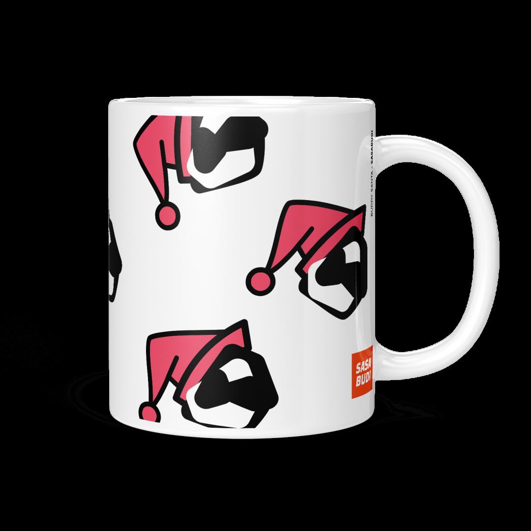 Buddy Santa Coffee Mug 11oz - White