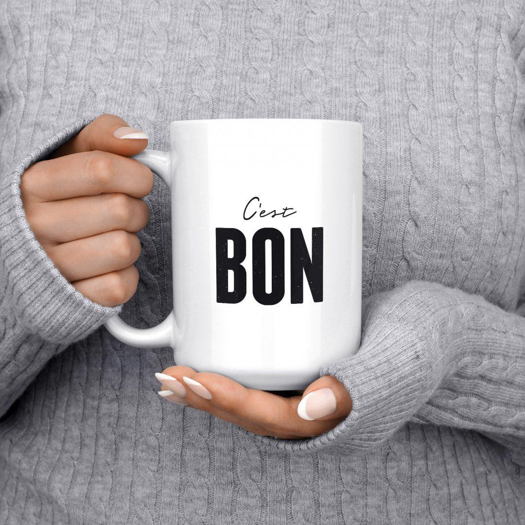 C'est BON Coffee Mug 15oz