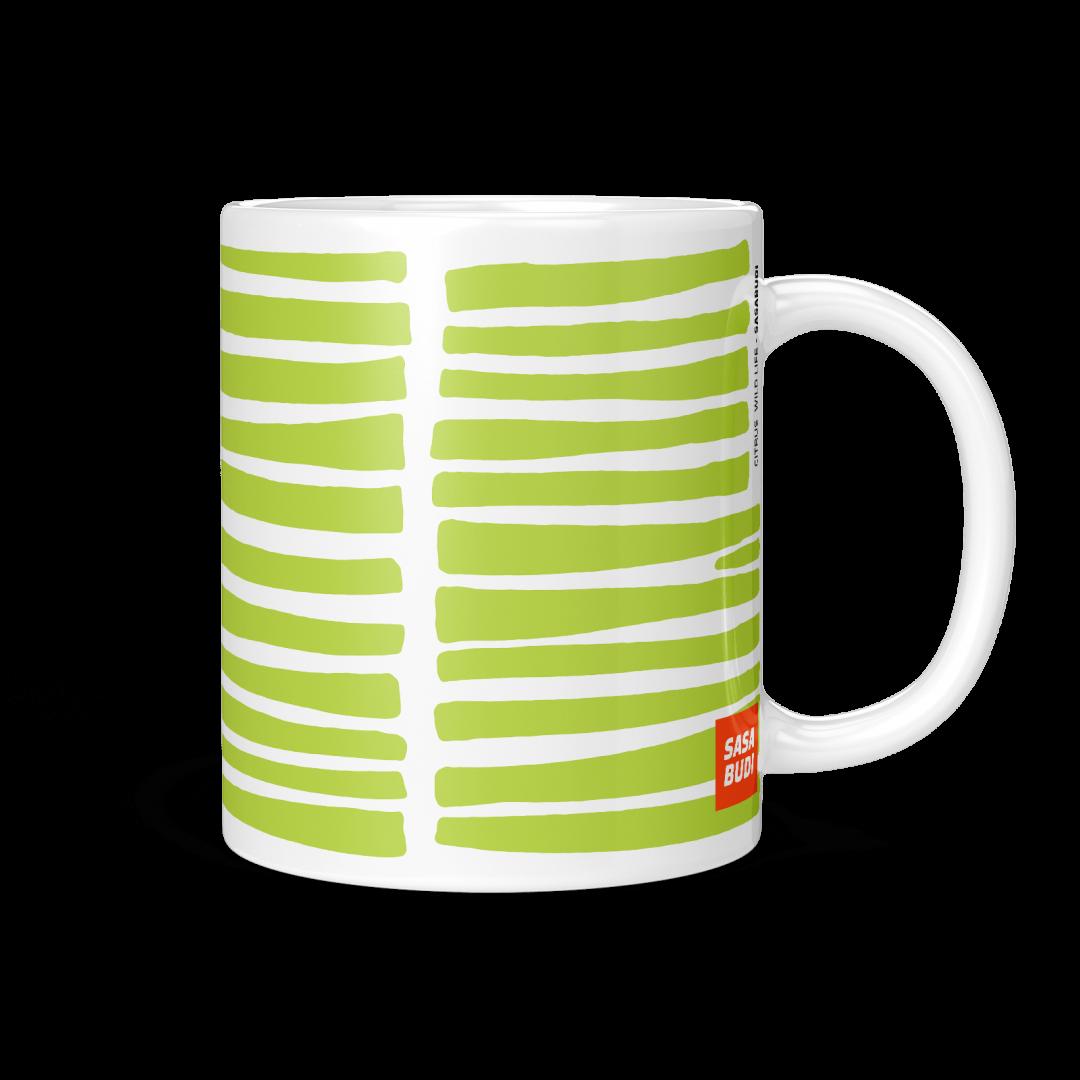 Citrus Wild Life Coffee Mug 11oz