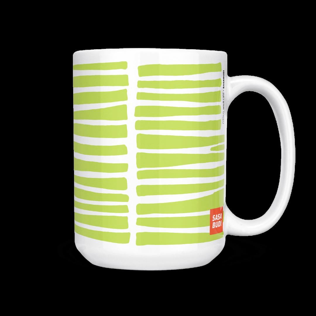 Citrus Wild Life Coffee Mug 15oz