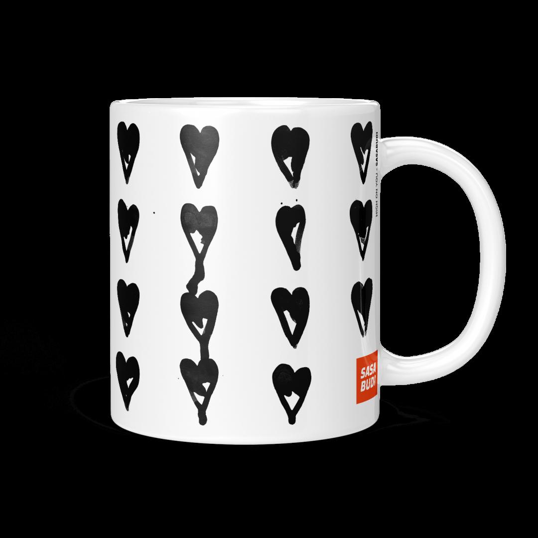 High On You Coffee Mug 11oz - Black