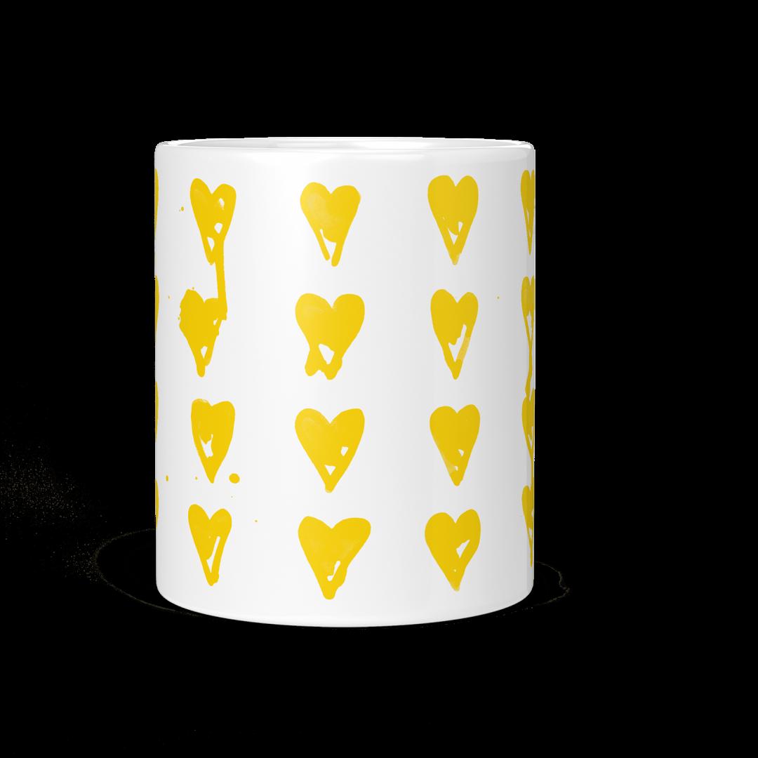 High On You Coffee Mug 11oz - Golden