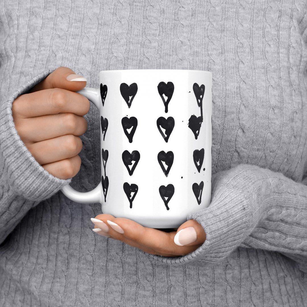 High On You Coffee Mug 15oz - Black