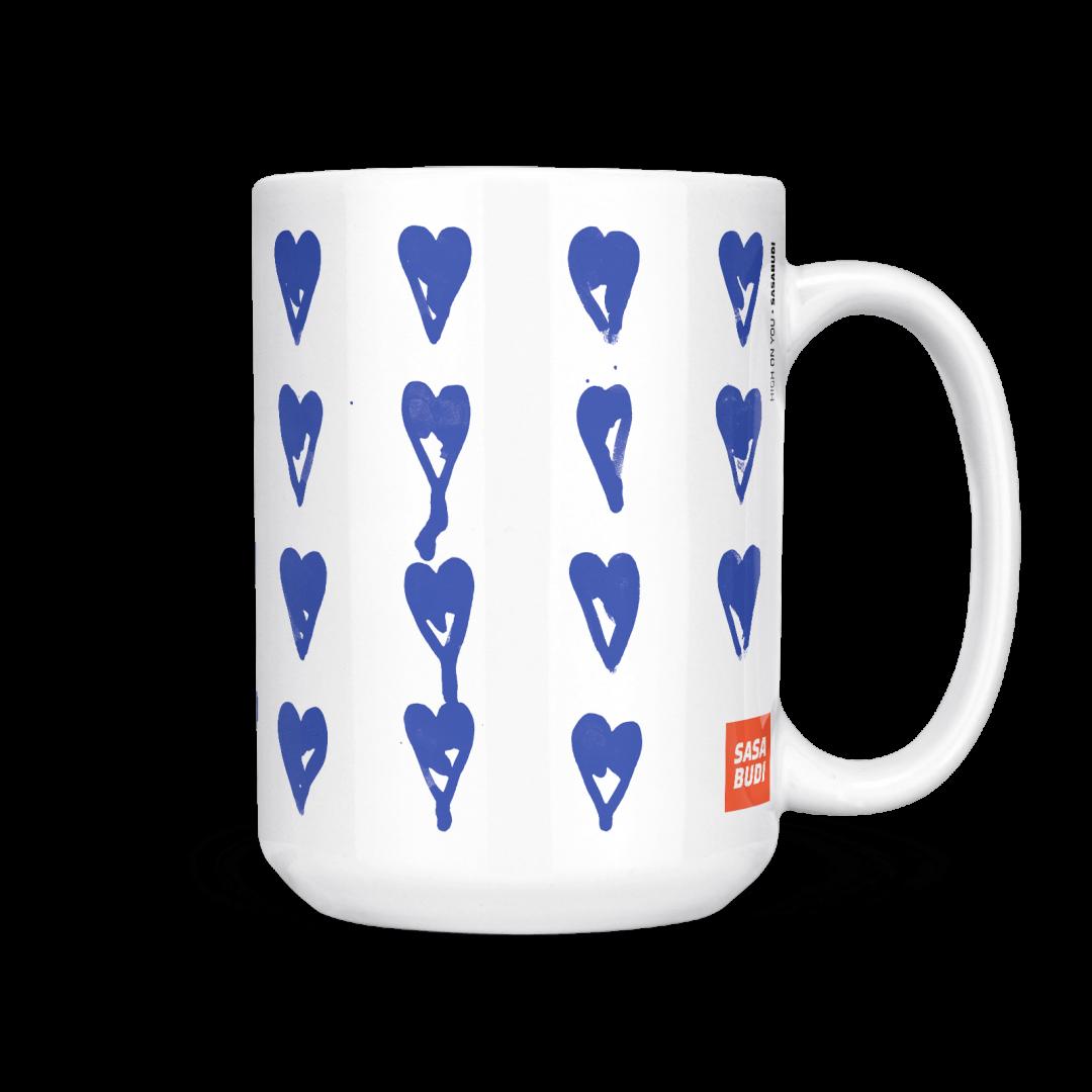 High On You Coffee Mug 15oz - Navy