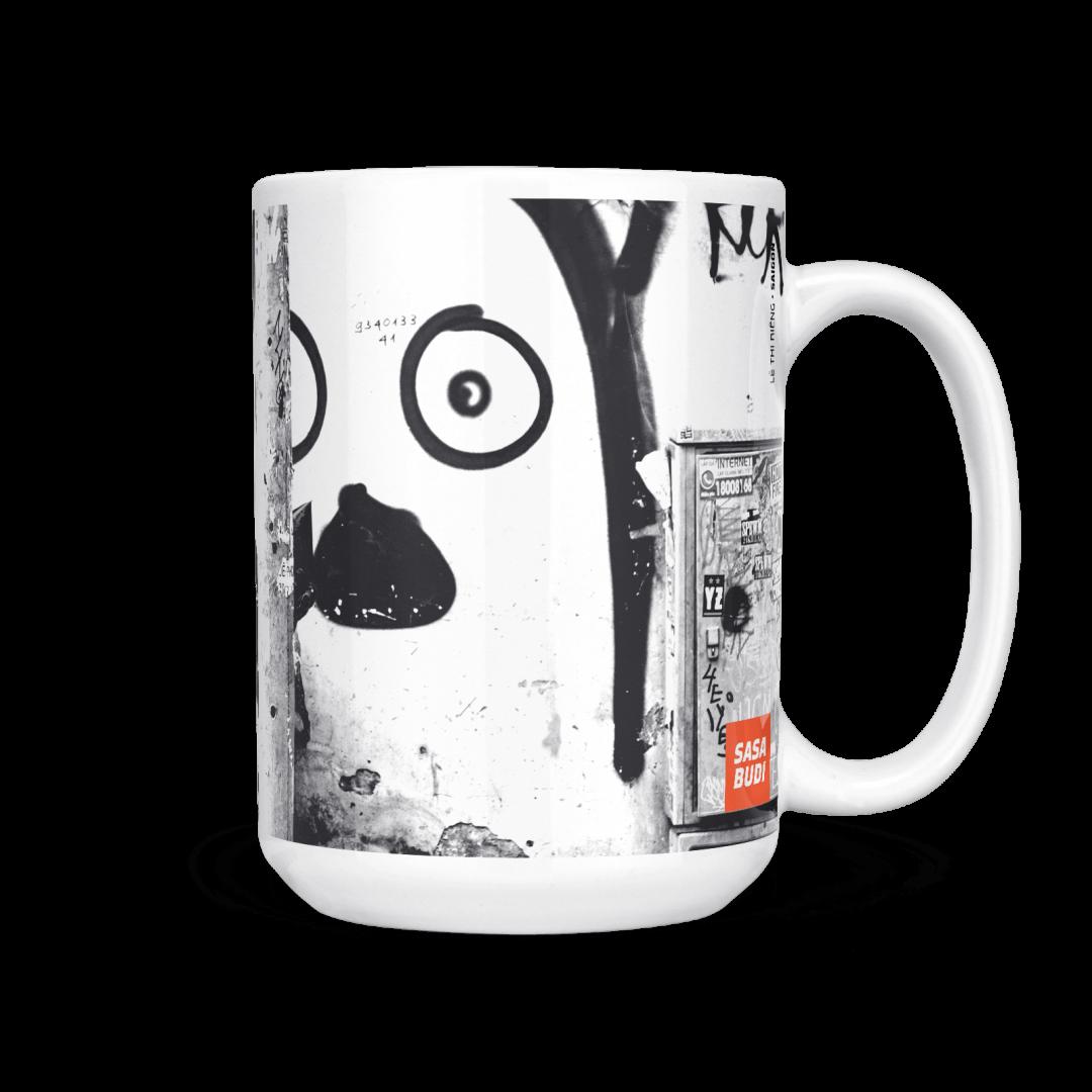 Lê Thị Riêng Urban Art Coffee Mug 15oz
