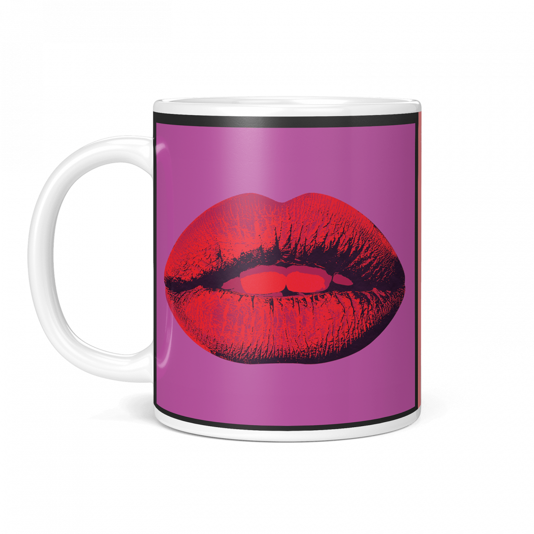 Mon Amour Lady Liberty Pop Art Coffee Mug 11oz