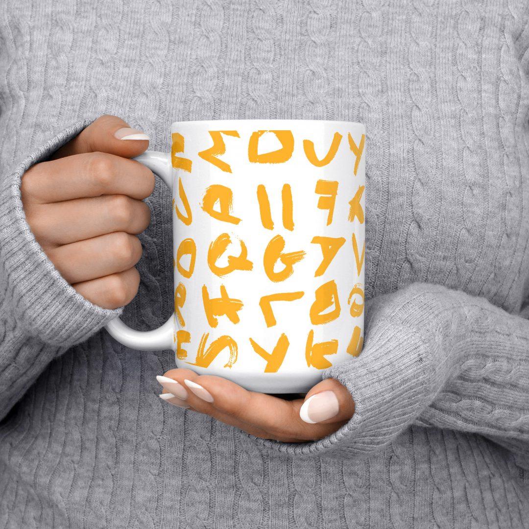Morning Chaos Coffee Mug 15oz - Sunny