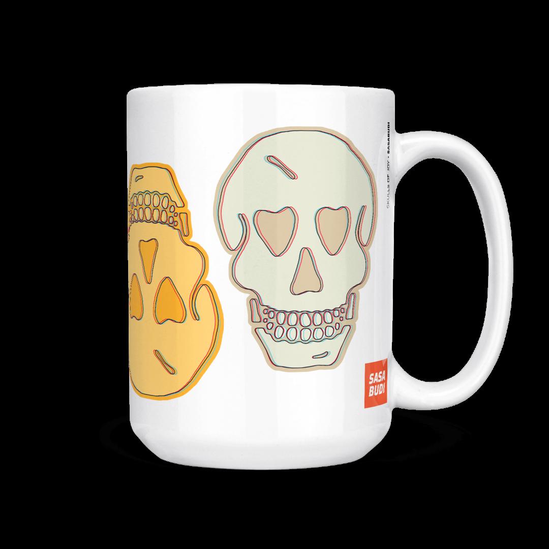Skulls of Joy Coffee Mug 15oz