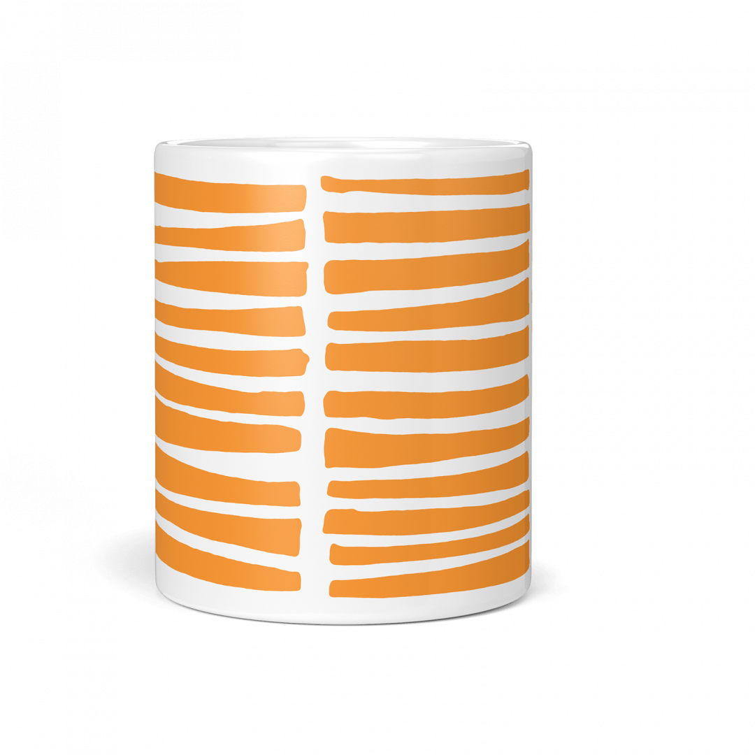 Tangerine Wild Life Coffee Mug 11oz