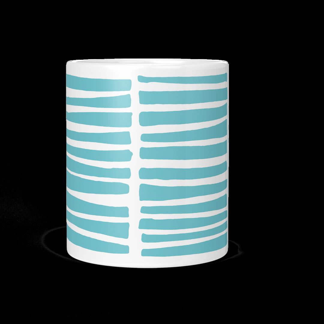 Turquoise Wild Life Coffee Mug 11oz