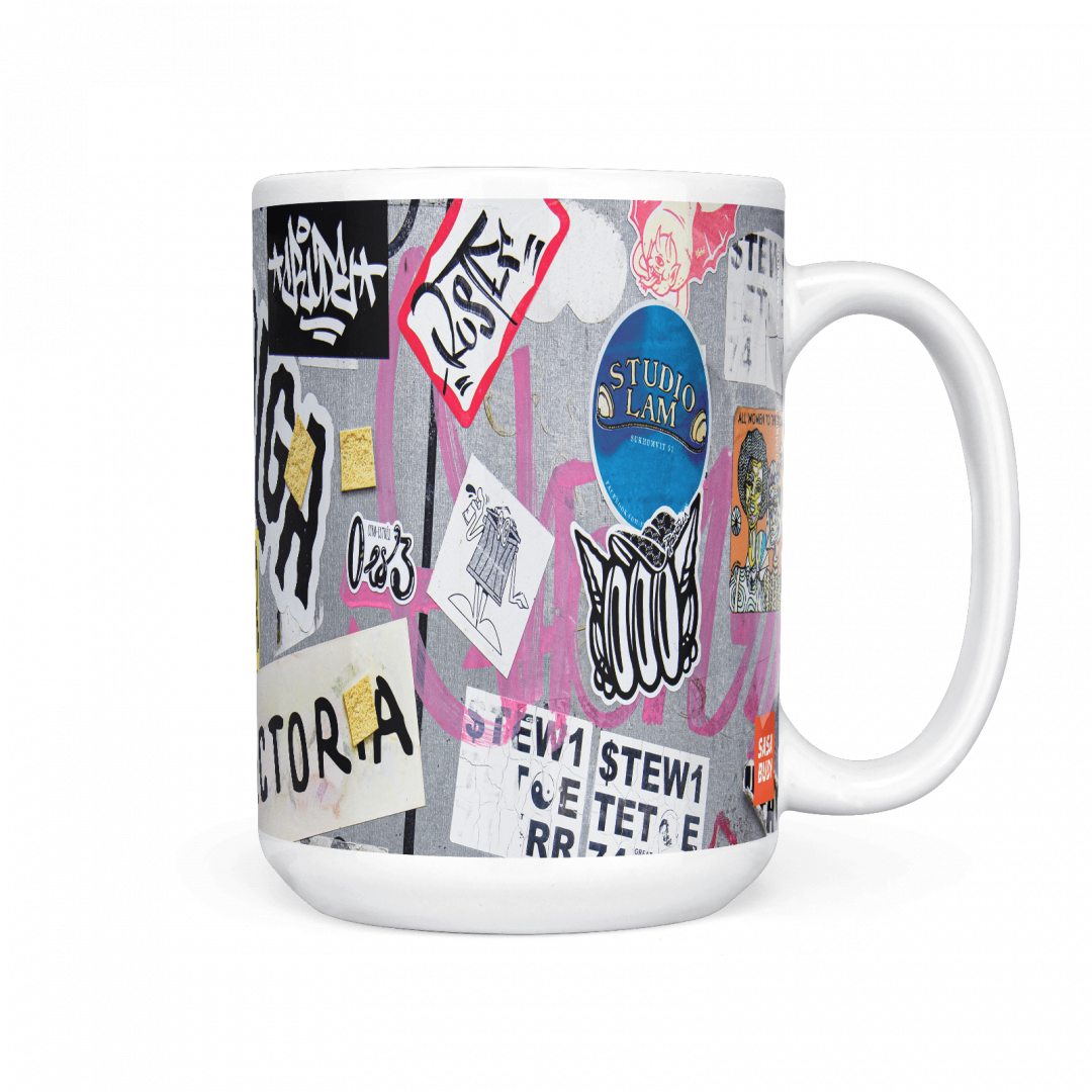 All Women To The Front No1 Urban Art Coffee Mug 15oz