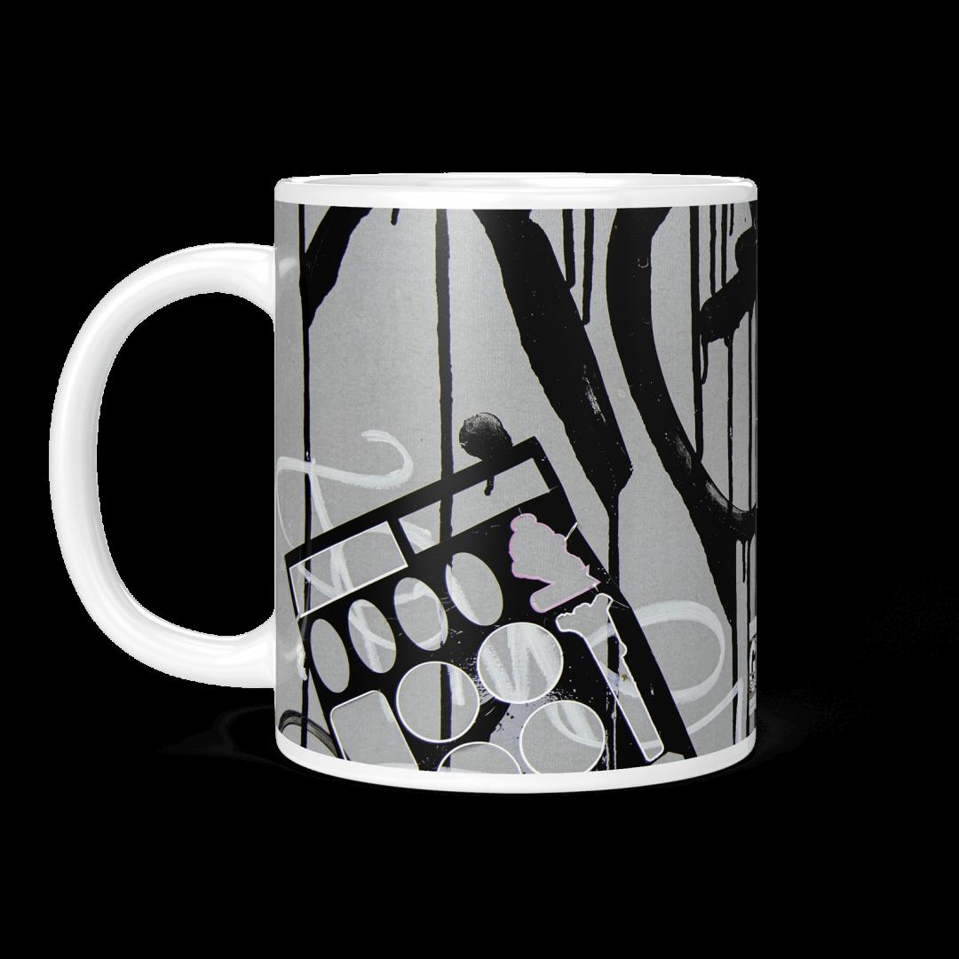 All Women To The Front No2 Urban Art Coffee Mug 11oz