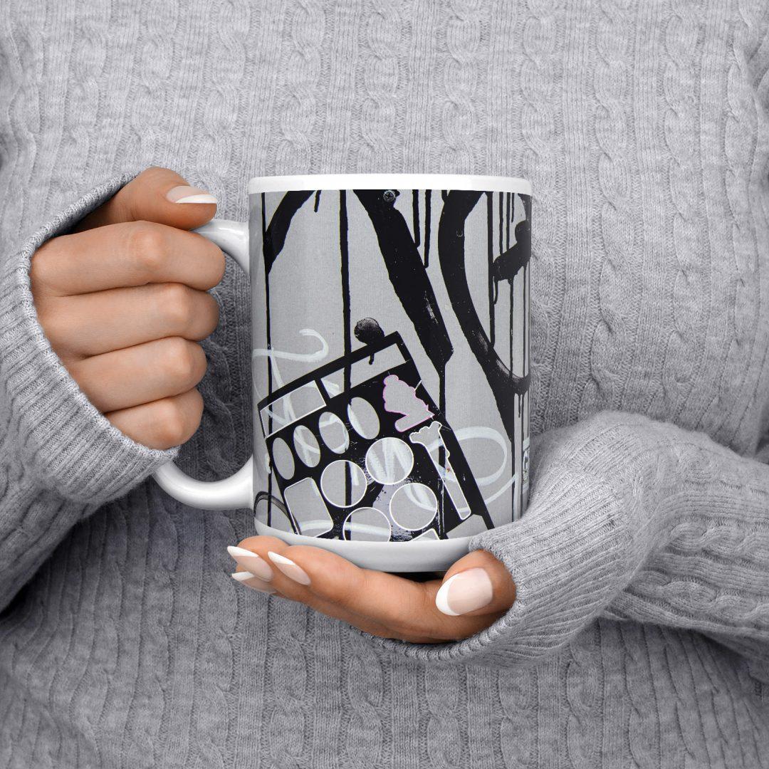 All Women To The Front No2 Urban Art Coffee Mug 15oz