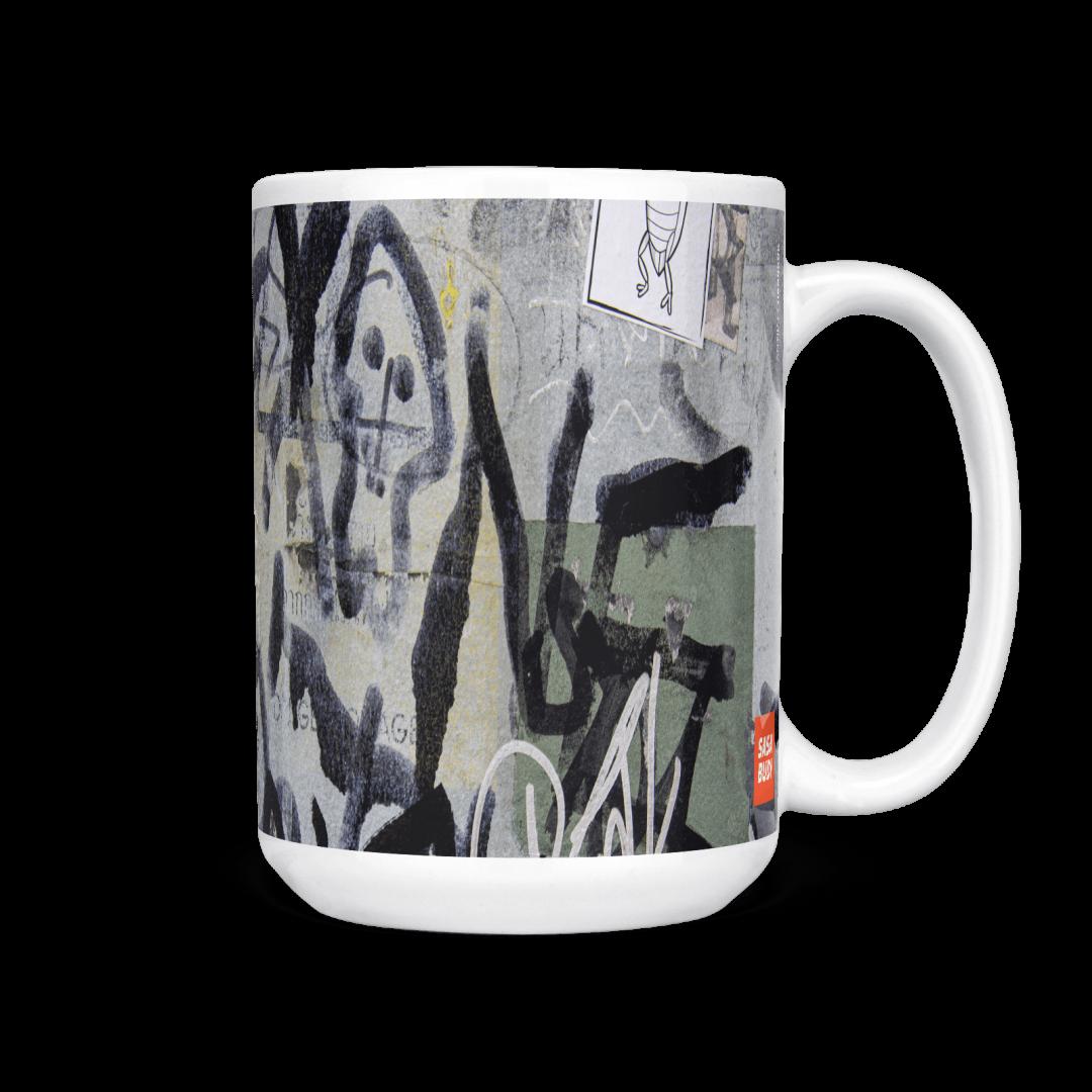 Antik No1 Urban Art Coffee Mug 15oz