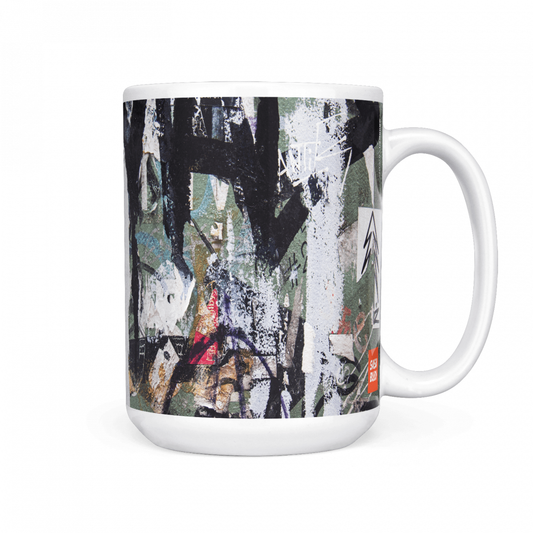 Antik No2 Urban Art Coffee Mug 15oz