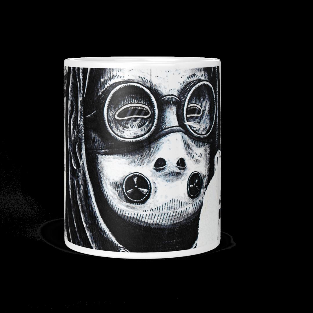Chakrabongse Road No1 Urban Art Coffee Mug 11oz
