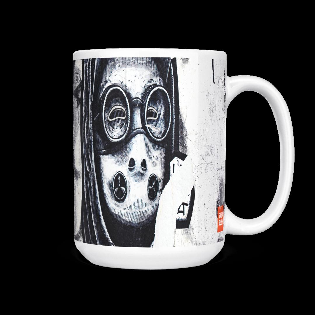 Chakrabongse Road No1 Urban Art Coffee Mug 15oz