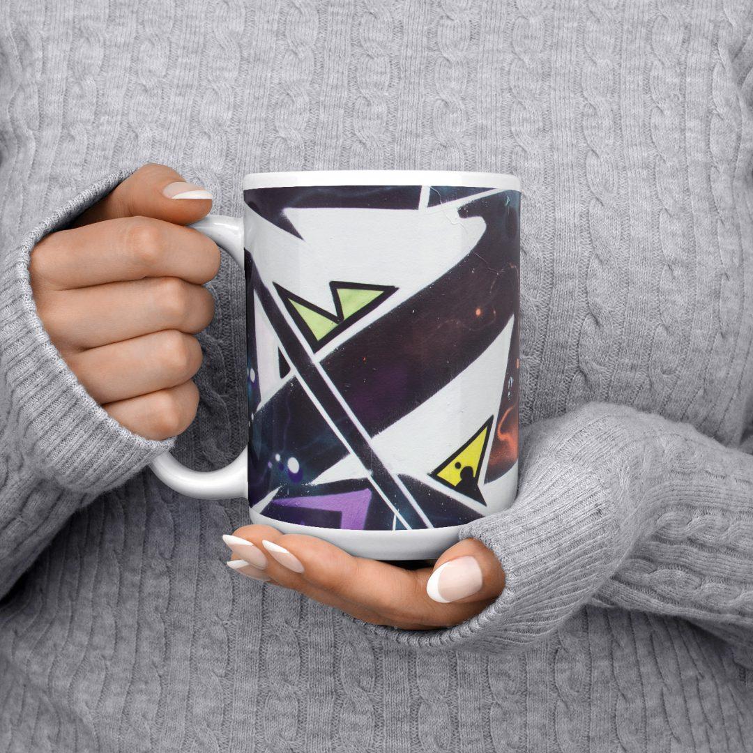 Chit Lom No1 Urban Art Coffee Mug 15oz