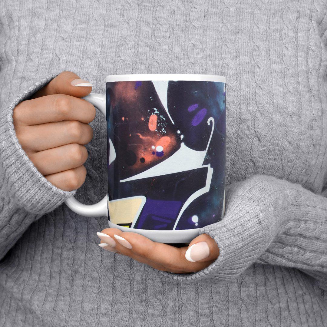 Chit Lom No2 Urban Art Coffee Mug 15oz