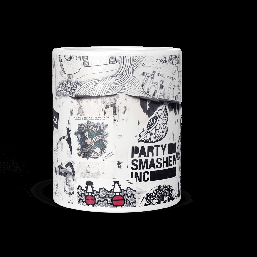 Everyday Happy No2 Urban Art Coffee Mug 11oz