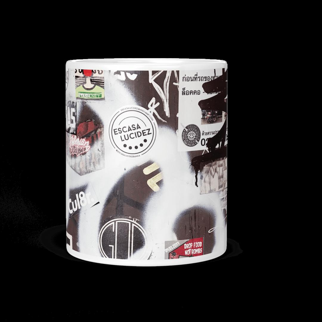Fight Club Radio No1 Urban Art Coffee Mug 11oz