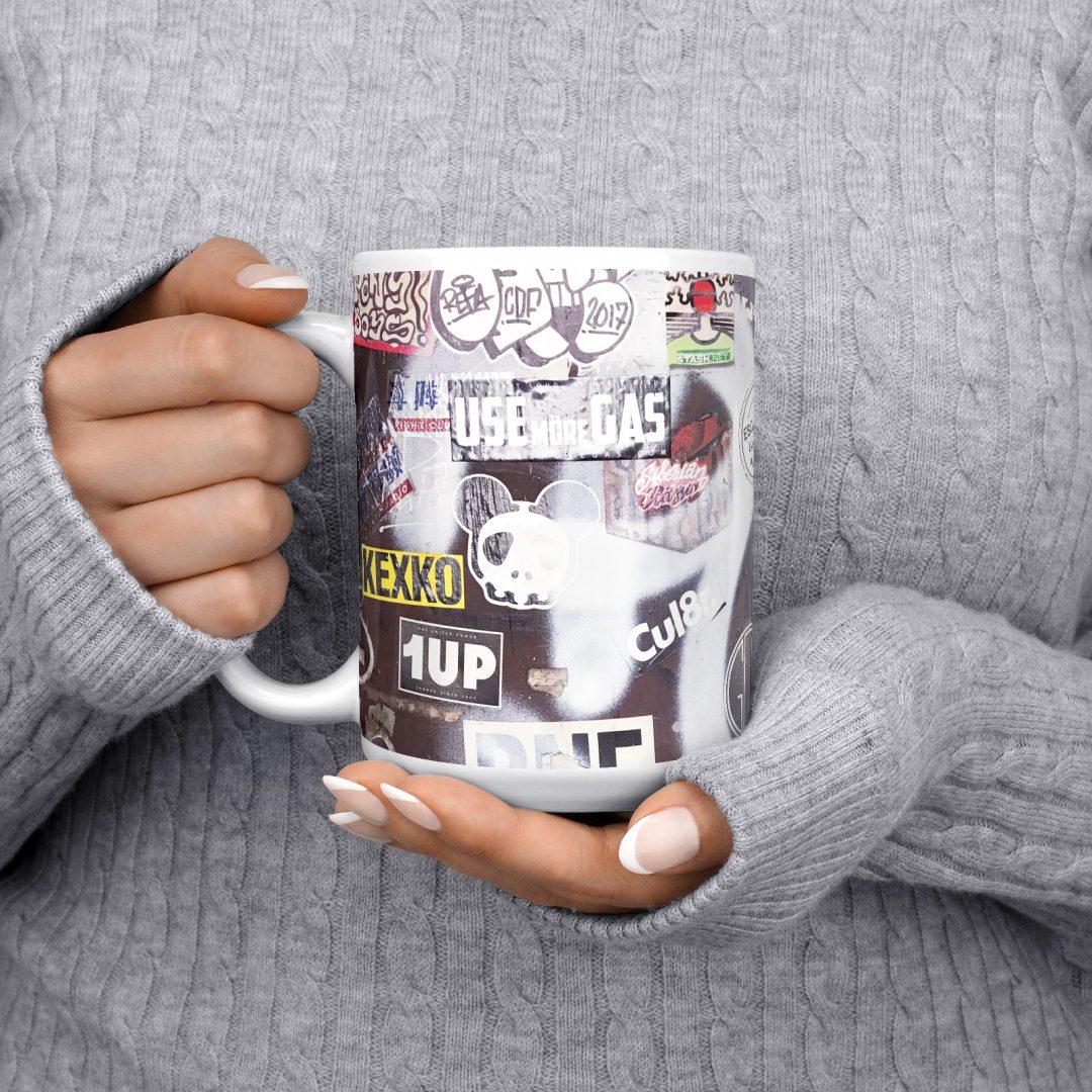 Fight Club Radio No1 Urban Art Coffee Mug 15oz