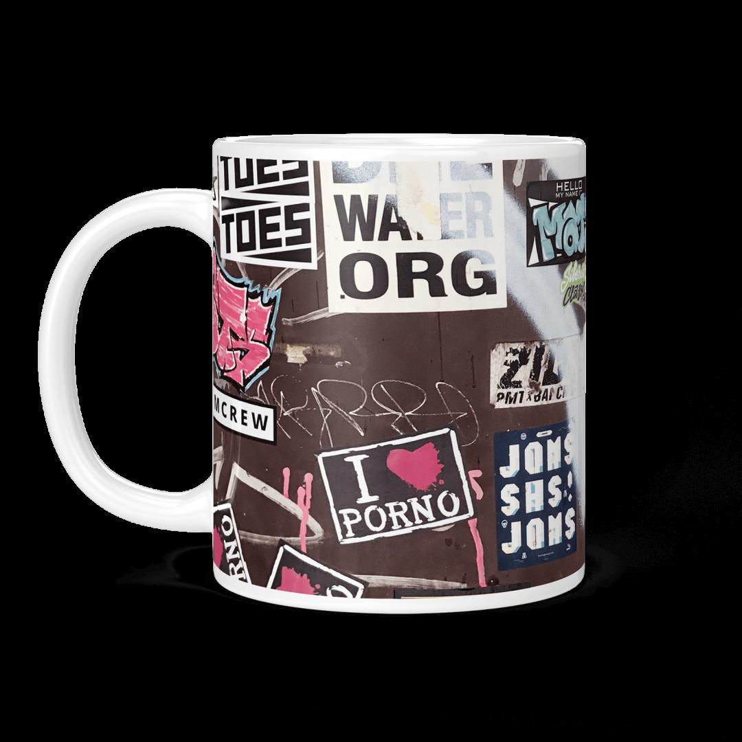 Fight Club Radio No2 Urban Art Coffee Mug 11oz