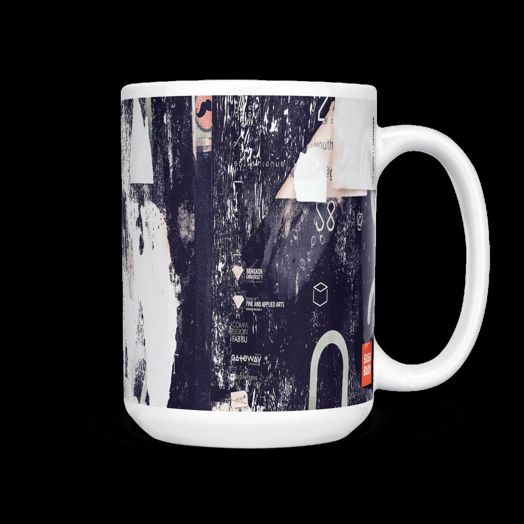 Gateway No1 Urban Art Coffee Mug 15oz