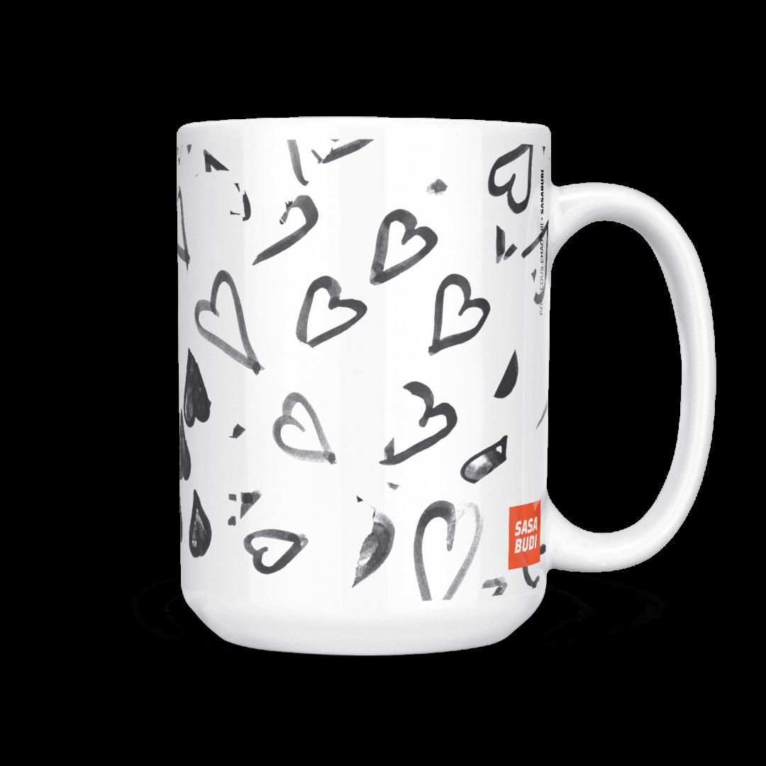 Gorgeous Chaos No3 Coffee Mug 15oz