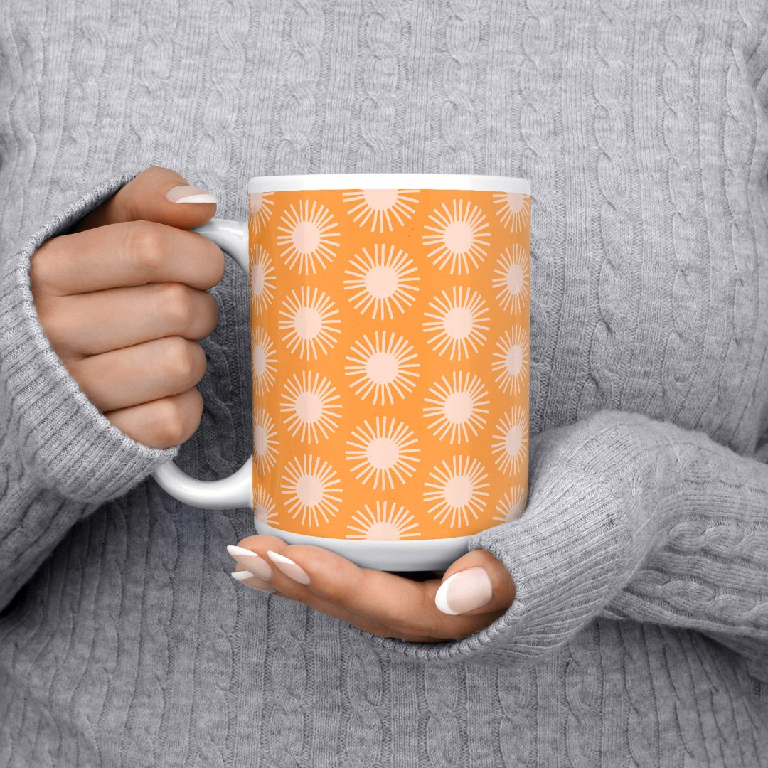 Happy Sunrays No1 Coffee Mug 15oz