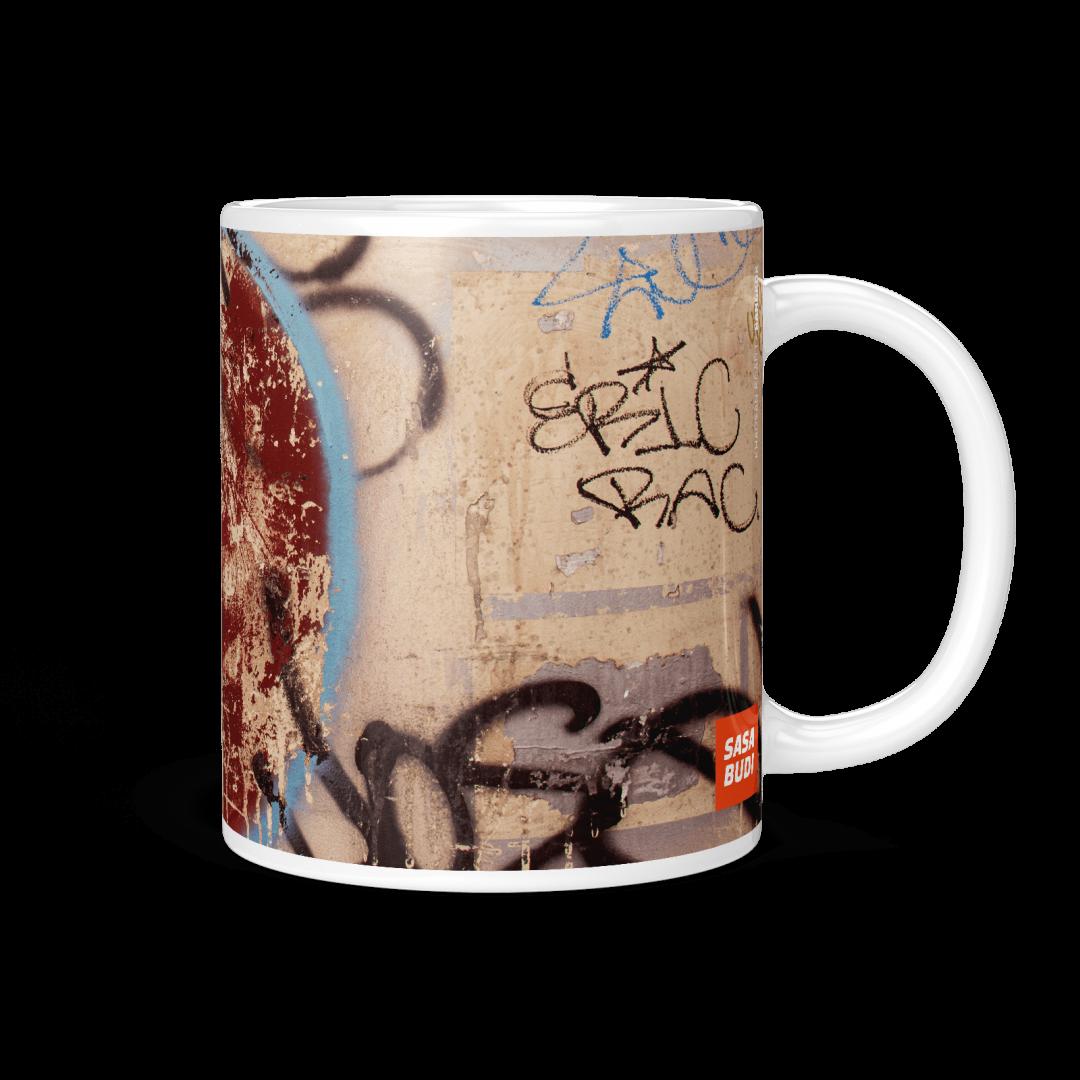 Khao San Road No1 Urban Art Coffee Mug 11oz