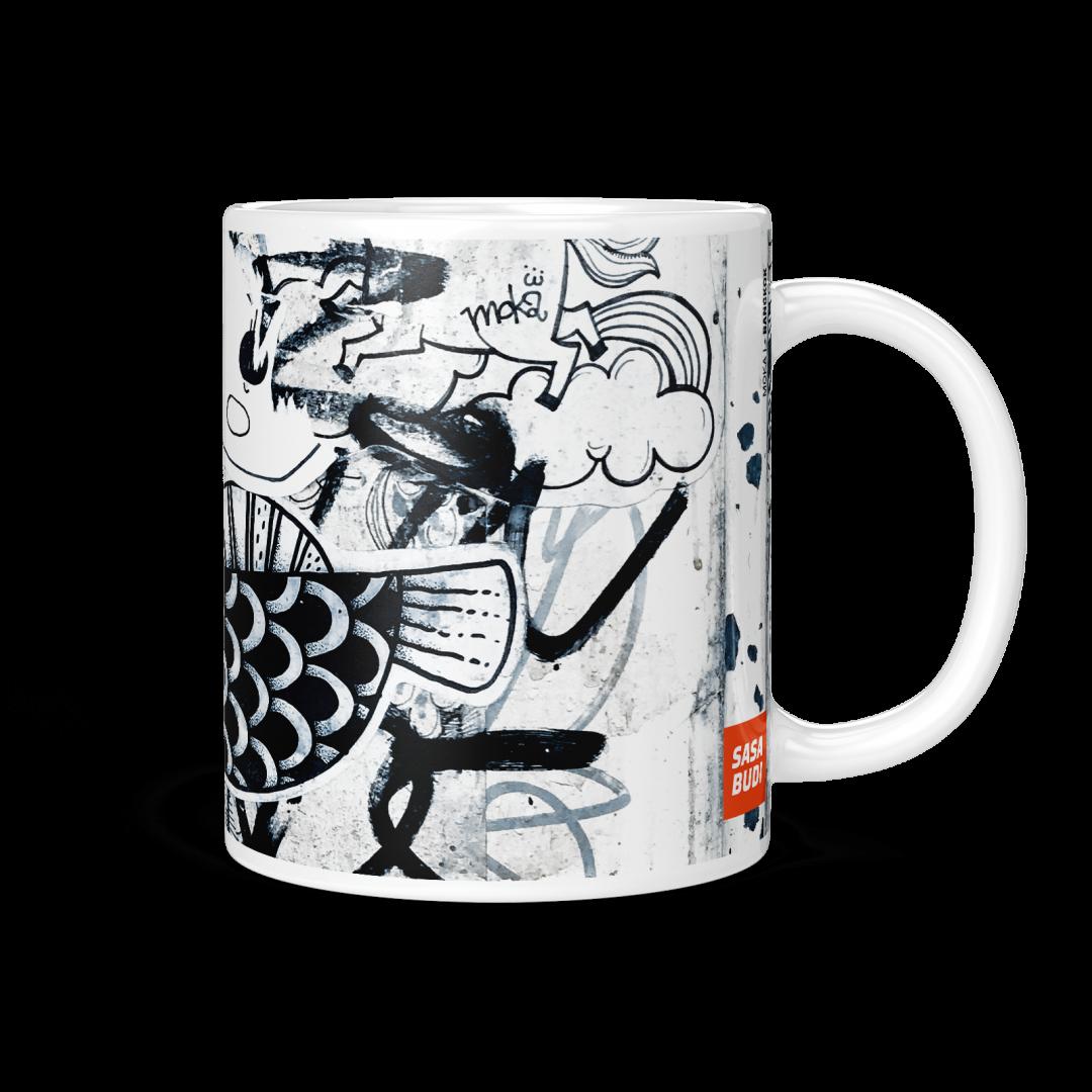 Moka No1 Urban Art Coffee Mug 11oz