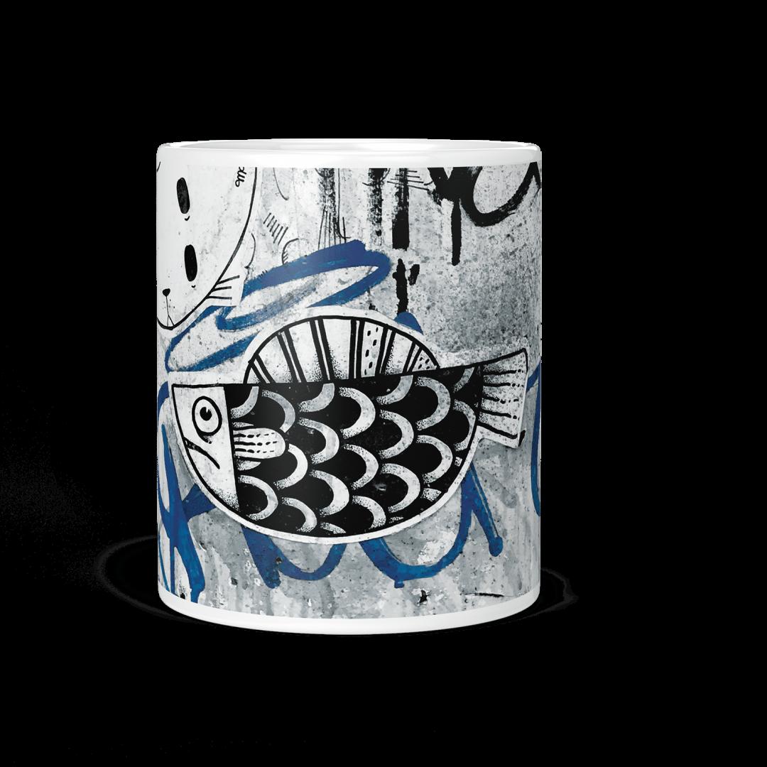 Moka No2 Urban Art Coffee Mug 11oz