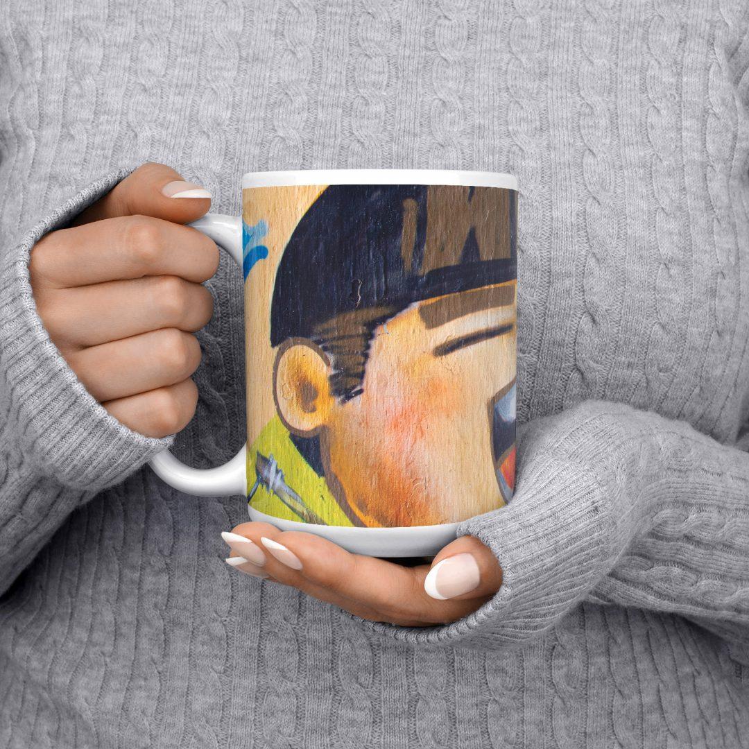 Nguyen Trai No2 Urban Art Coffee Mug 15oz
