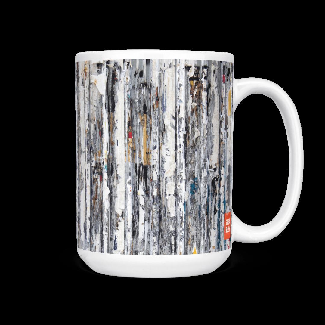 Ratchathewi No1 Urban Art Coffee Mug 15oz