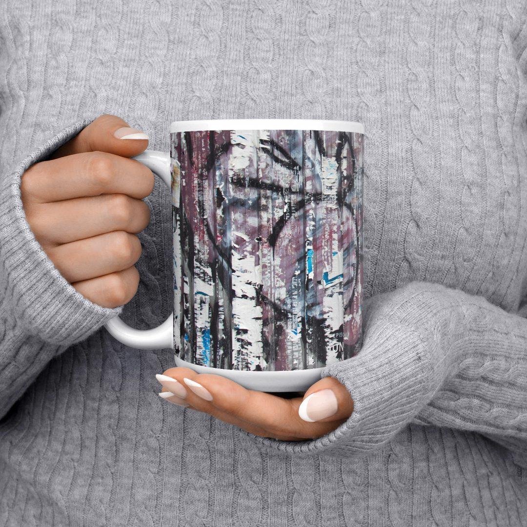 Ratchathewi No3 Urban Art Coffee Mug 15oz
