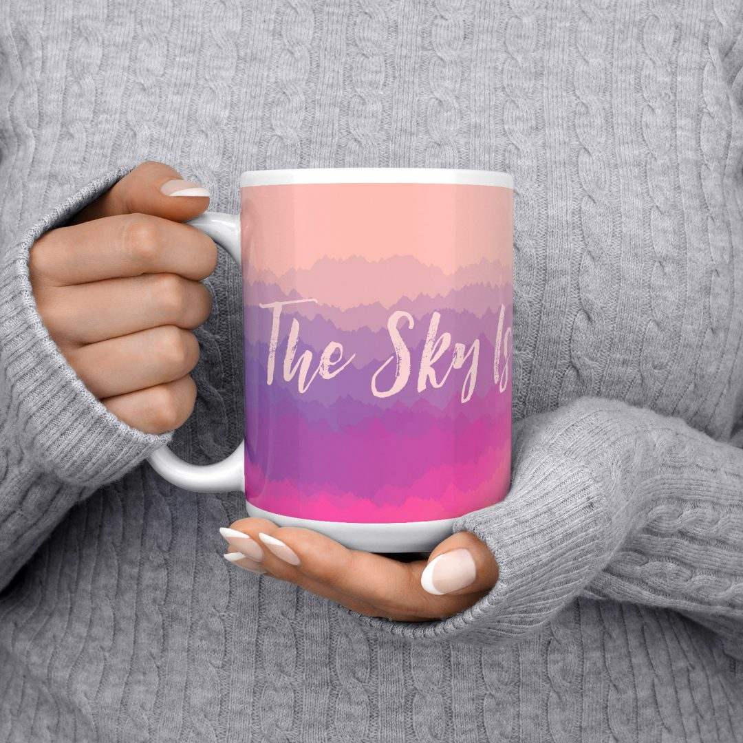 The Sky Is Not The Limit No2 Coffee Mug 15oz