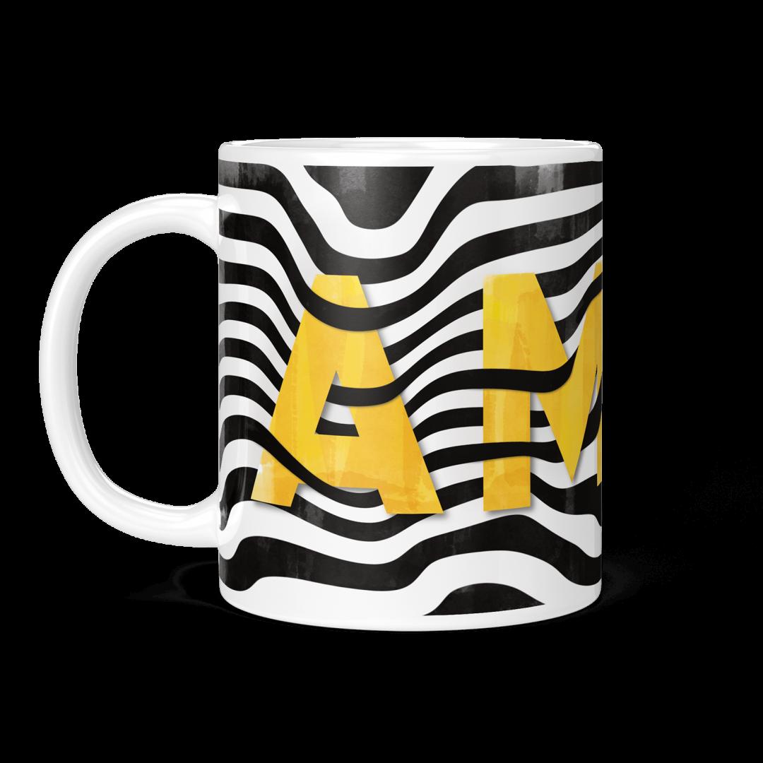 Sasabudi AMOR Abstract Coffee Mug 11oz