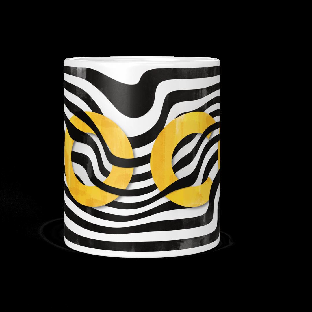 Sasabudi COCO Abstract Coffee Mug 11oz