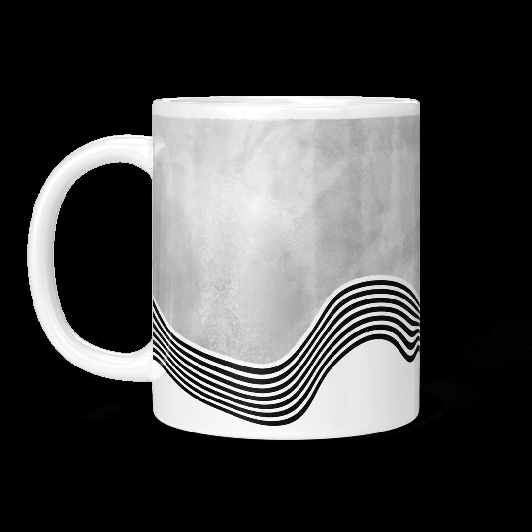 Sasabudi Overflowing Spirit Ultimate Gray Coffee Mug 11oz