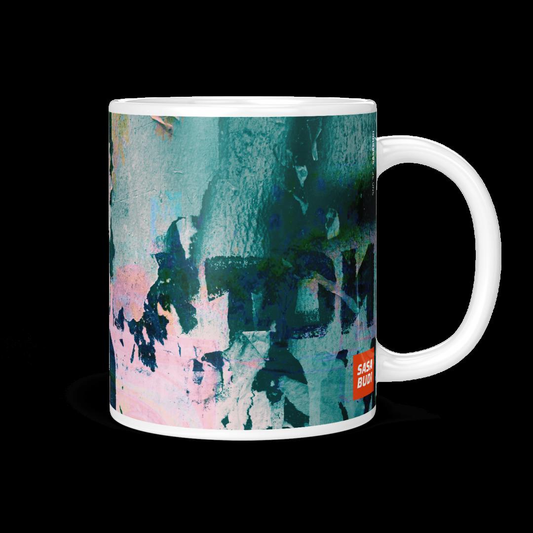 Sasabudi SNG 32 Abstract Coffee Mug 11oz