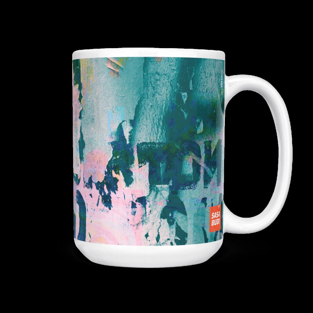 Sasabudi SNG 32 Abstract Coffee Mug 15oz