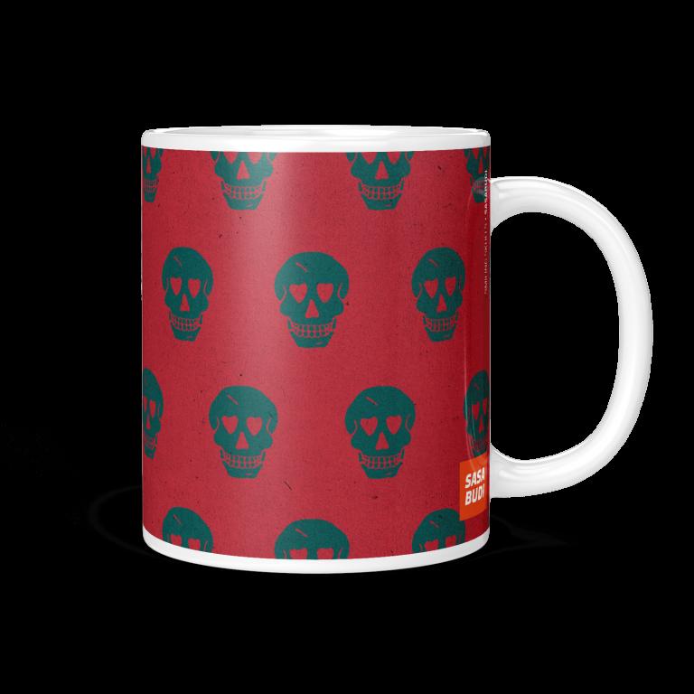 Smiling Skulls Coffee Mug